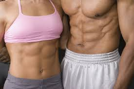 male female abs